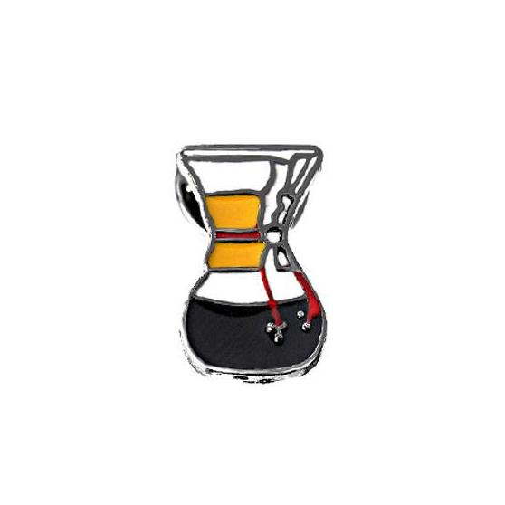 Coffeetized - Brooch (Chemex)