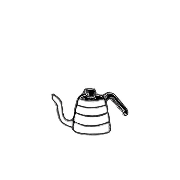 Coffeetized - Brooch (Kettle)