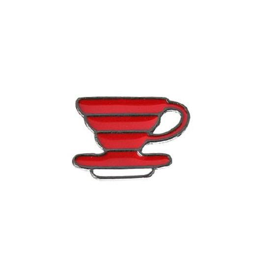 Coffeetized - Brooch (V60 Dripper)