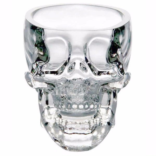 Skull Shaped Coffee Glass (250 ML)