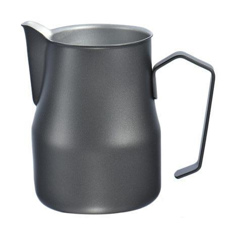 Coffeetized Europa Milk Jug – Black