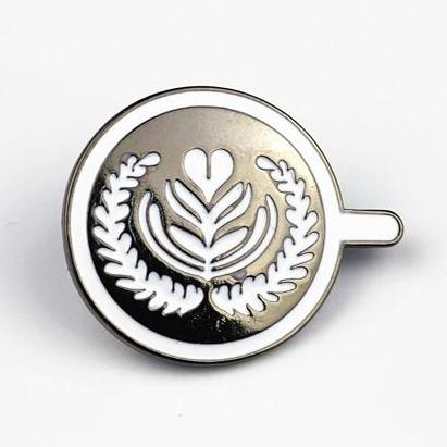 Master Tulip Latte Art Brooch