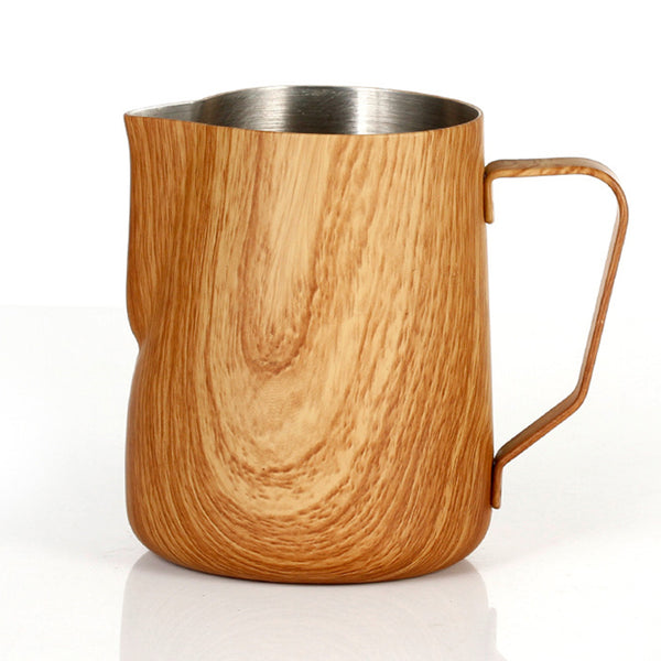 Wood Grain Milk Pitcher