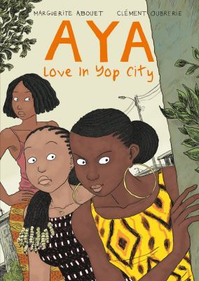 Aya love in yop city book cover
