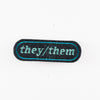 They/them patch by Wild Fox Medicine