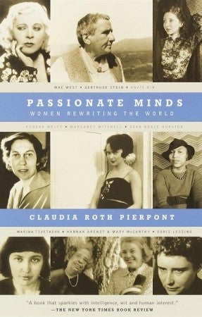 Passionate Minds Women Rewriting the World Book Cover