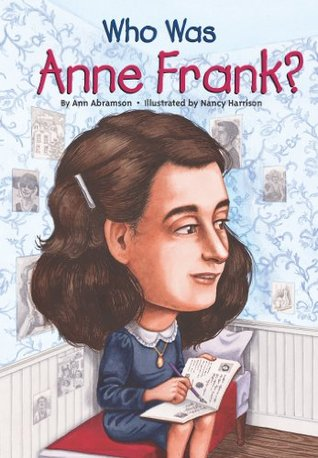 who was ann frank book cover