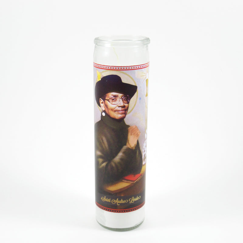 Audre Lorde Saint Candles by Mose Mary & Me