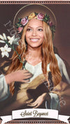 Beyonce Saint Candles by Mose Mary & Me
