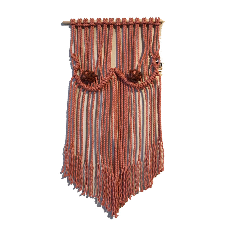 Macrame hand made in new orleans by NO Finer Fibers