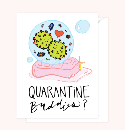 Single Greeting Cards by Sassy Banana Design Co