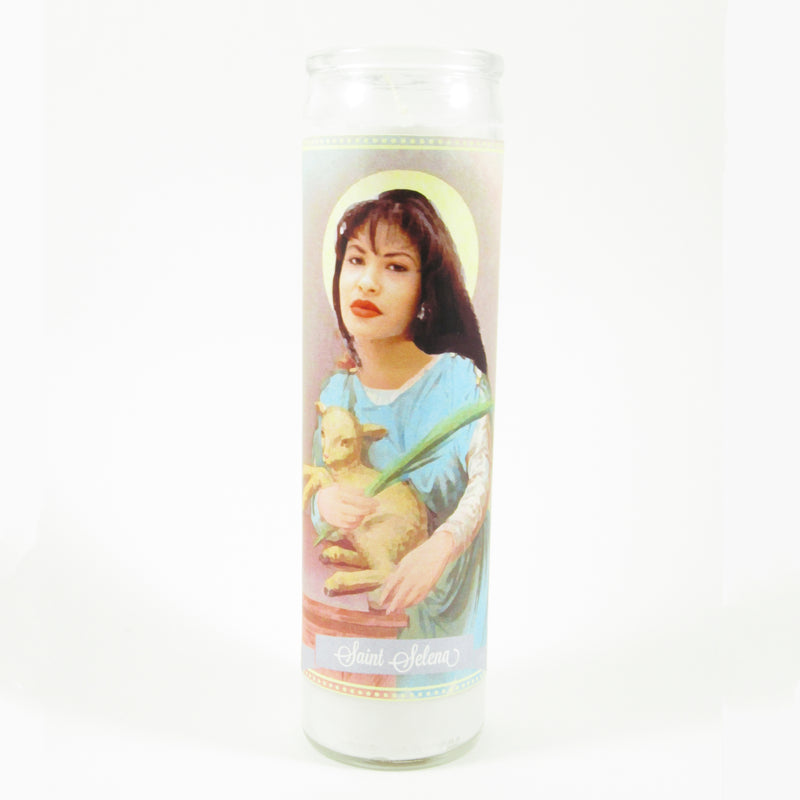 Selena Saint Candles by Mose Mary & Me