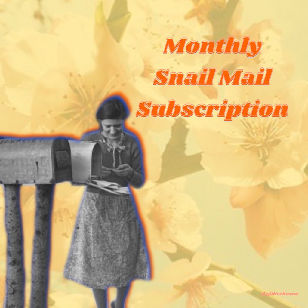 Glitter Box Monthly Snail Mail Subscription