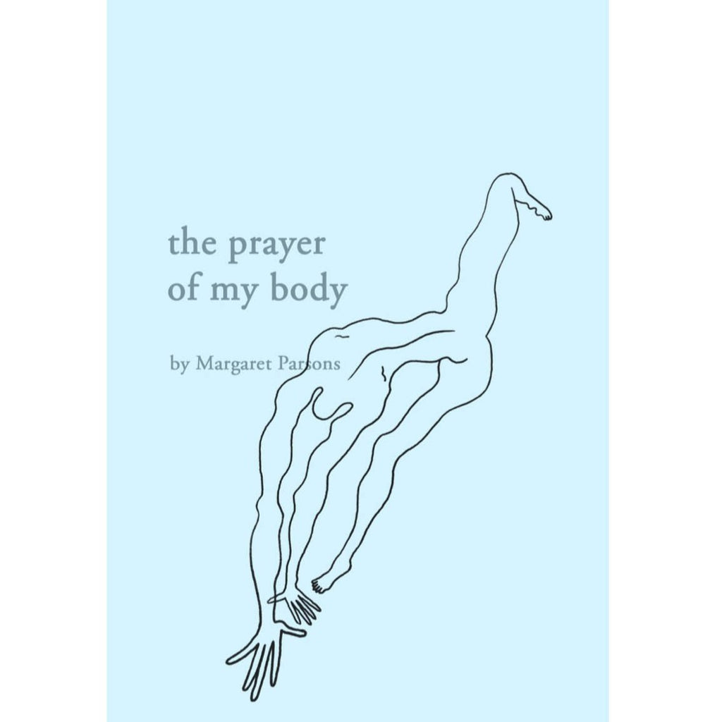A beautiful collection of drawings and writing about swimming and transformation by Margaret Parsons