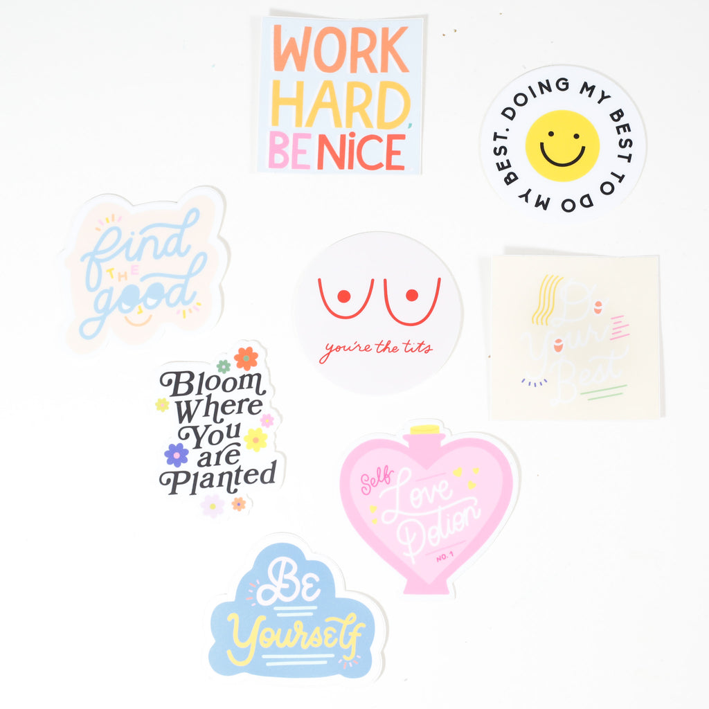 Stickers by Rhianna Marie Chan