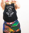 Glitter Box Girl Gang Cropped Black Tank by Glitter Box Goods