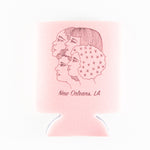 Glitter Box girl gang koozie designed by Katie Barroso