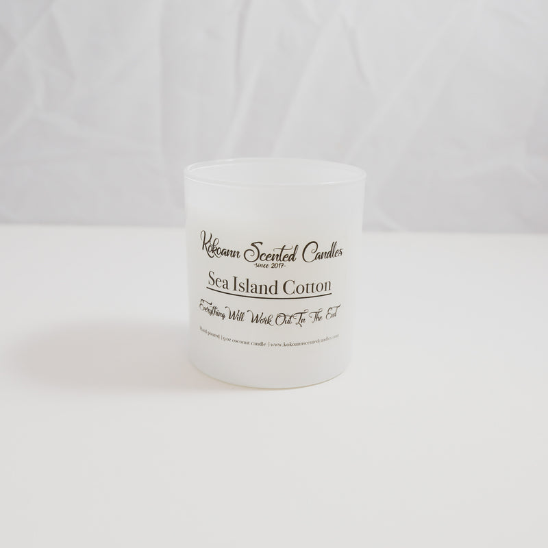 Sea Island Cotton Scented Candles by Kokoann Scented Candles