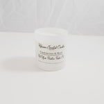 Frankinscence & Mhyrr Scented Candle by Kokoann Scented Candles