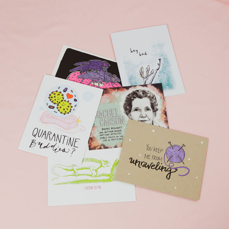 Snail Mail Subscription Example Kit