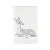 Blank journals or sketchbooks with deer illustration on cover by Magda Boreyza