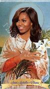 Michelle Obama Saint Candles by Mose Mary & Me