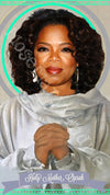 Oprah Saint Candles by Mose Mary & Me
