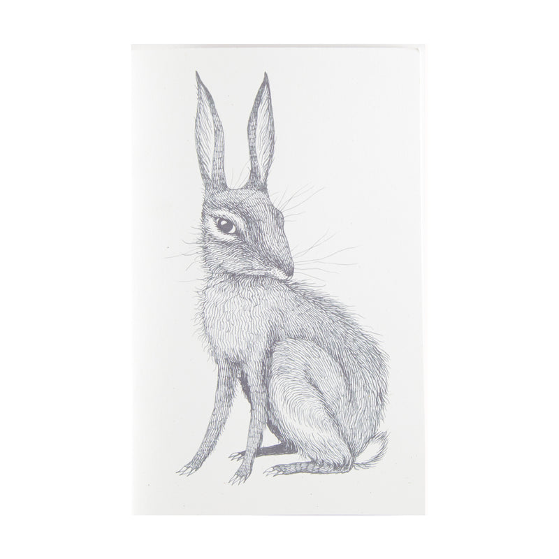Blank journals or sketchbooks with rabbit illustration on cover by Magda Boreyza