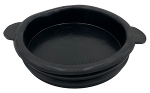 Black Rubber Lid - fits Economy Transport & Collection Cans