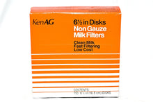 "Ken Ag 6-1/2"" Milk Filter Disks Non-gauze 100pk"