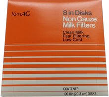 Milk Filter Disks --All Sizes