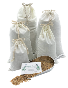 Organic Einkorn Farro Berries also available as fresh ground flour