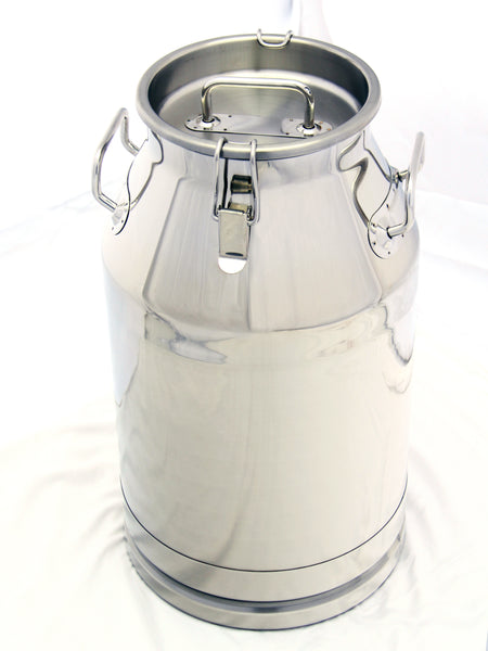 Premium Stainless Steel Milk Transport and Collection Cans