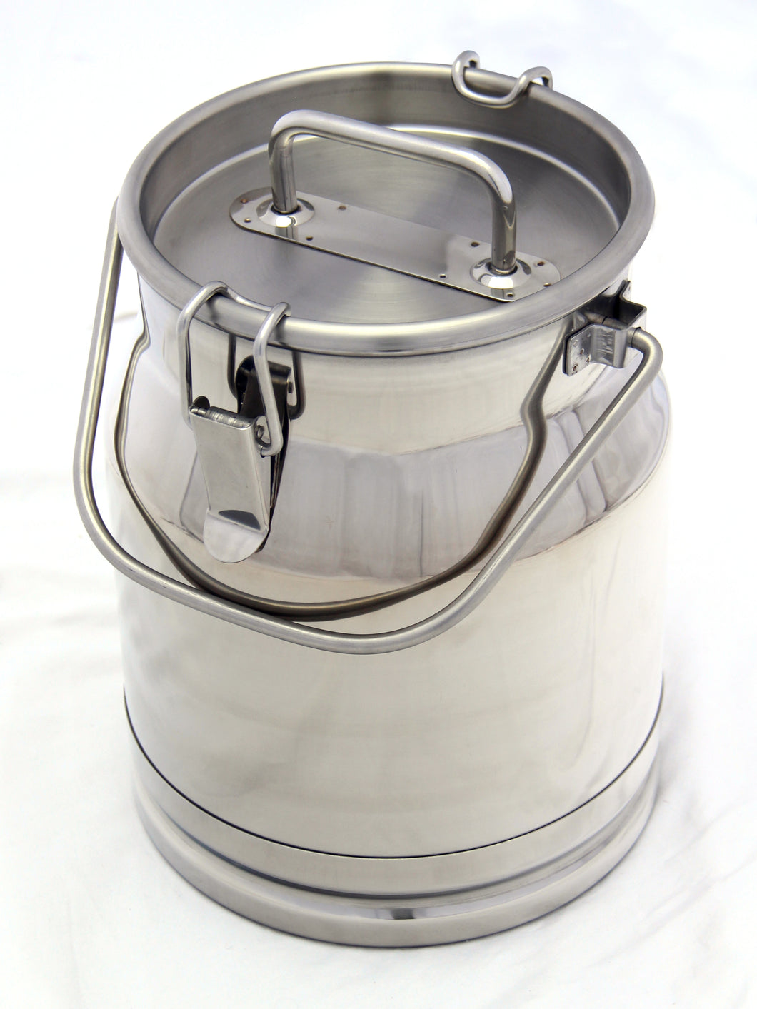 Stainless Steel Milk Transport and Collection Cans
