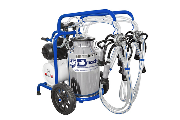 Milking Machines for Cows, Goats, and Sheep. Gas and Electric power options