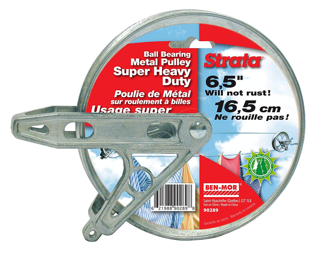 Strata 6.5'' Metal Heavy Duty Pulley -- Ball Bearing Style