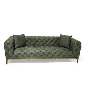 Tufted Lord Sofa 3 Seater - Naturalist USA
