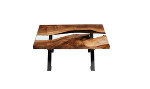 Hudson 120 Resin Coffee Table - Naturalist USA