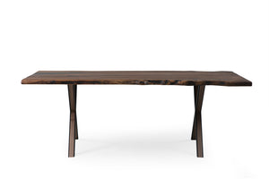 Walnut 210-1 Live Edge Dining Table - Naturalist USA