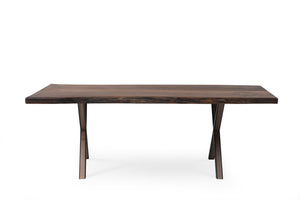 Walnut 220-1 Live Edge Dining Table - Naturalist USA
