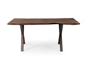 Walnut 180 Live Edge Dining Table - Naturalist USA