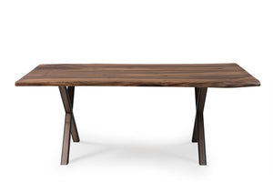 Walnut 200 Live Edge Dining Table - Naturalist USA