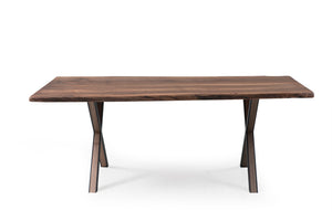 Walnut 200-1 Live Edge Dining Table - Naturalist USA
