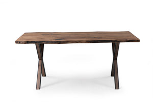 Walnut 180-1 Live Edge Dining Table - Naturalist USA