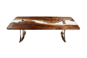 "Osso 270 Resin Dining Table ""Limited Edition"" - Naturalist USA"