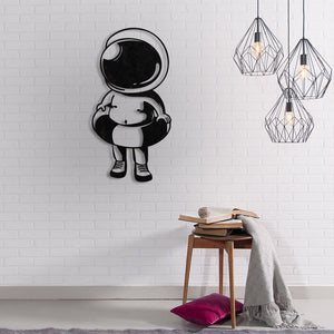 Baby Astranout Modern Metal Wall Art