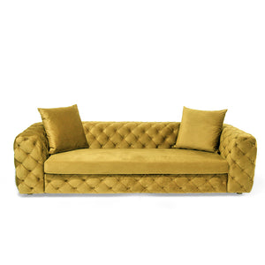 Tufted Zeus Sofa - Naturalist USA