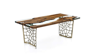 Hudson 200 Resin Dining Table - Naturalist USA