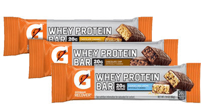 Gatorade Whey Protein Bars (Various Flavors)