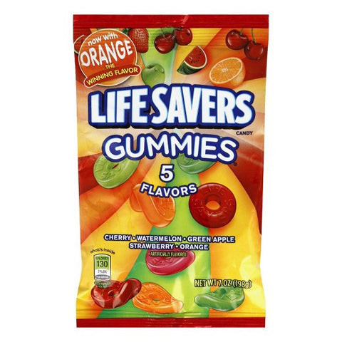 Life Savers Gummies 5-Flavor Pouch King Size